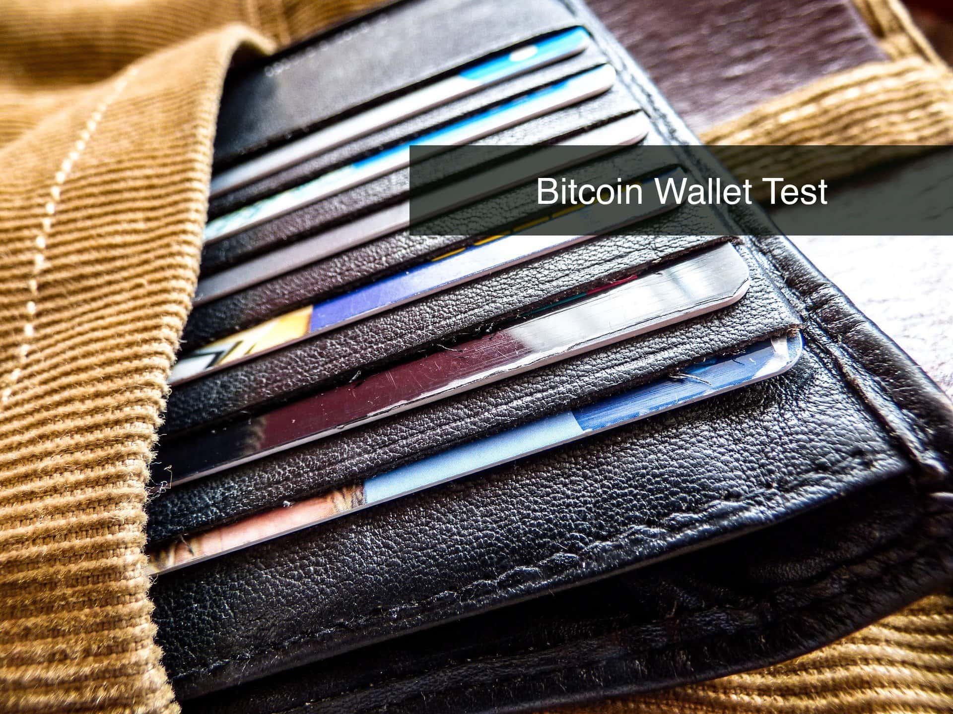 Bitcoin Wallet Test
